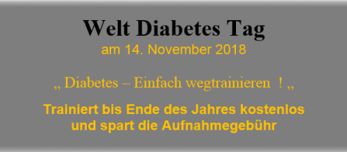 Welt Diabetes Tag